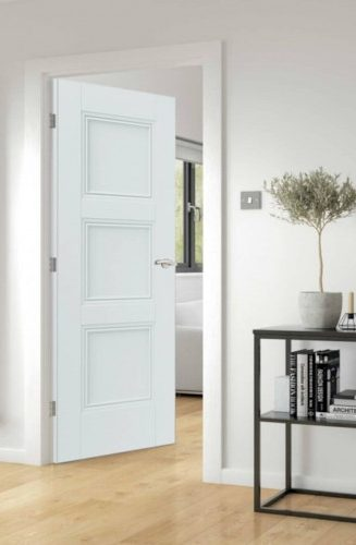 Fire door white